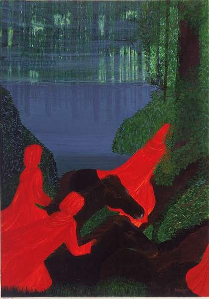 The Bayou (oil on canvas)