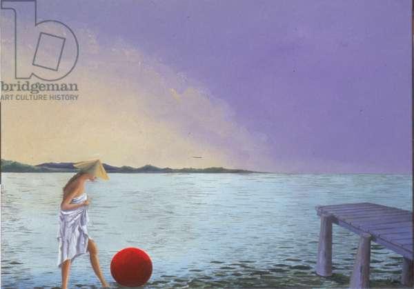 Football, 2001 (oil on canvas)