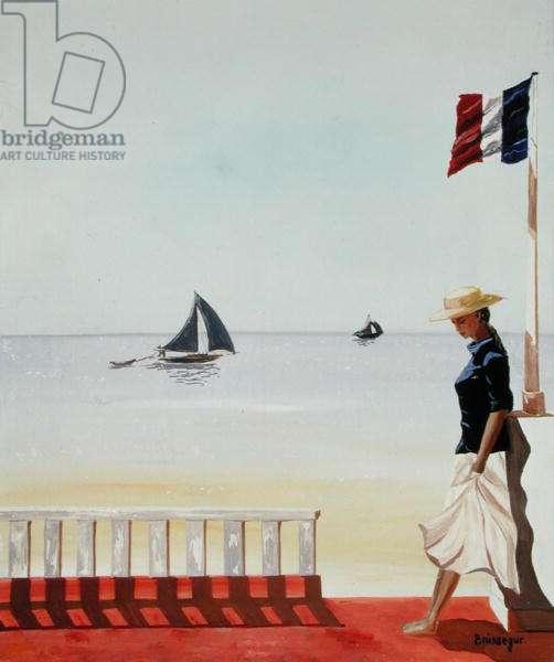 The Rendez Vous (oil on canvas)