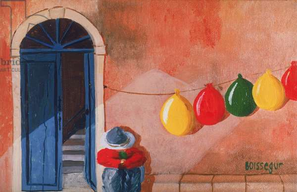 George's Balloons Dry (oil on canvas)
