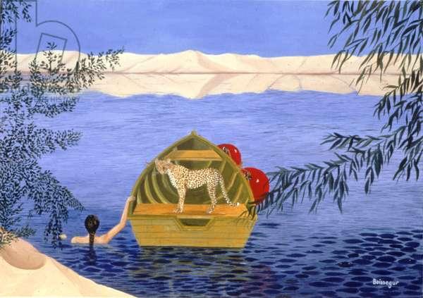 Felin Feline, 2000 (oil on canvas)