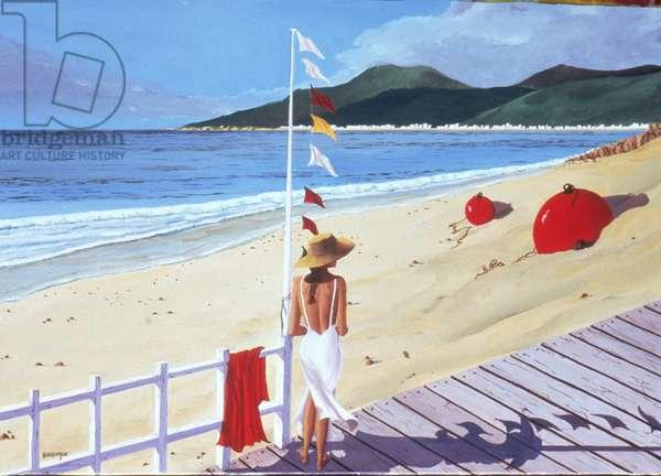 Avant le Bain (oil on canvas)