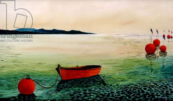 Clair de Mer (oil on canvas)