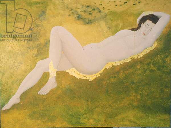 Nude (oil on canvas)