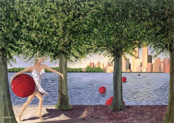 Branche d'Ombre (oil on canvas)