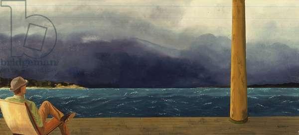 Grenadines (oil on canvas)
