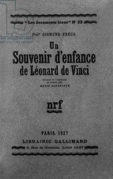Cover of book by Sigmund Freud