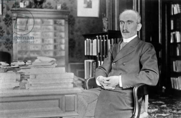 French philosopher Henri Bergson (1859-1941) literature Nobel Prize in1927 here c. 1905