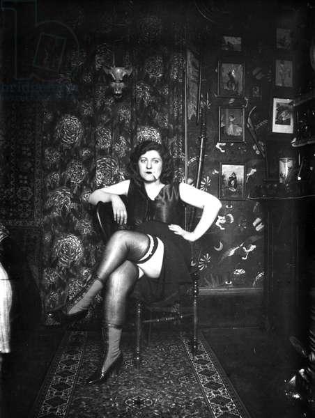 Prostitute, c.1920 (b/w photo)
