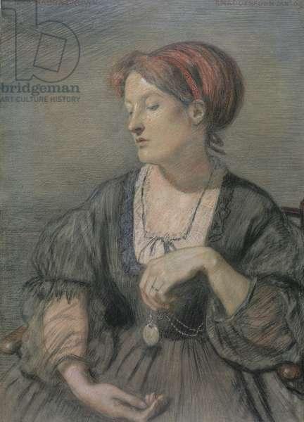 Emma Madox Brown (1829-90) 1869 (pastel)