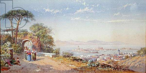Messina, 1883 (w/c on paper)