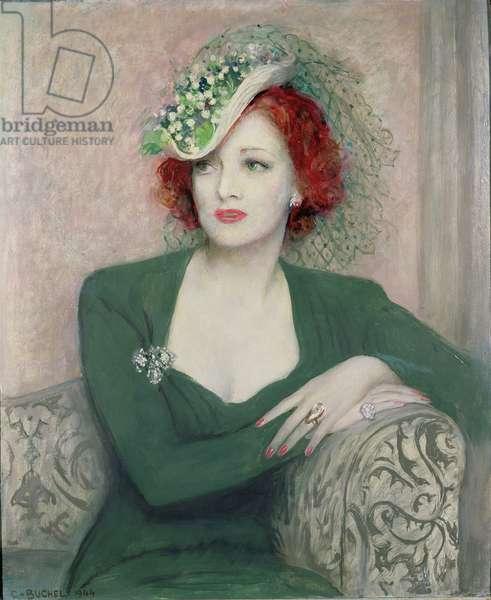 A Half Length Portrait of Margo Graham
