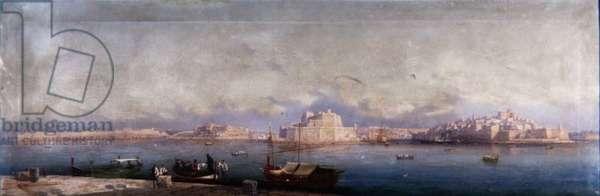 The Grand Harbour, Valletta, 1878 (pair of 63823)