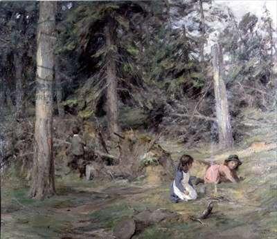 Around a Camp Fire, 1899