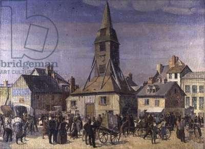 The Market, Honfleur