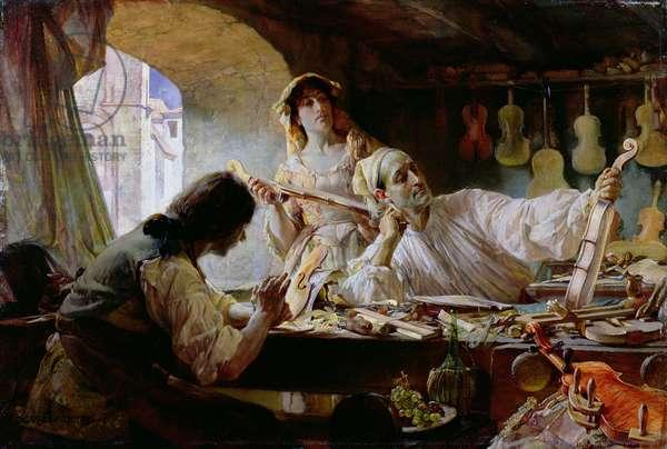 Antonio Stradivari, 1893 (panel)
