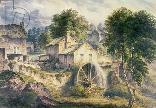 Mill in Bonsall Dale, Derbyshire (w/c)