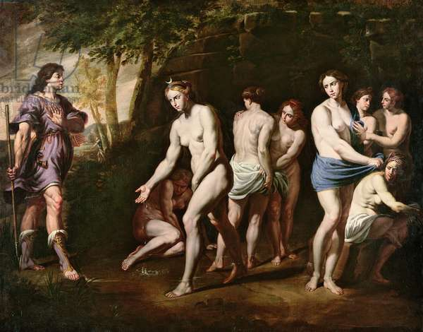 Diana and her Nymphs Surprised by Actaeon