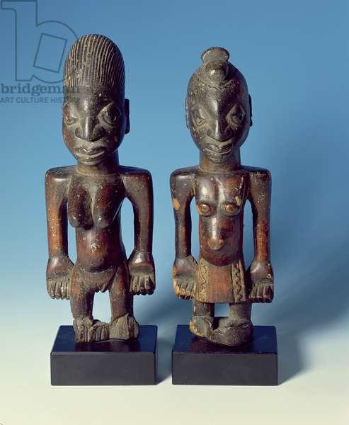 Ibejis, pair of 19th century