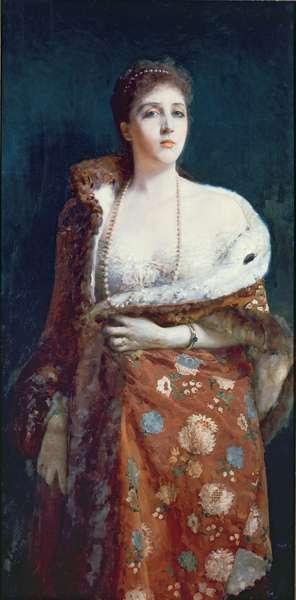 Portrait of the Duchess of Fondi