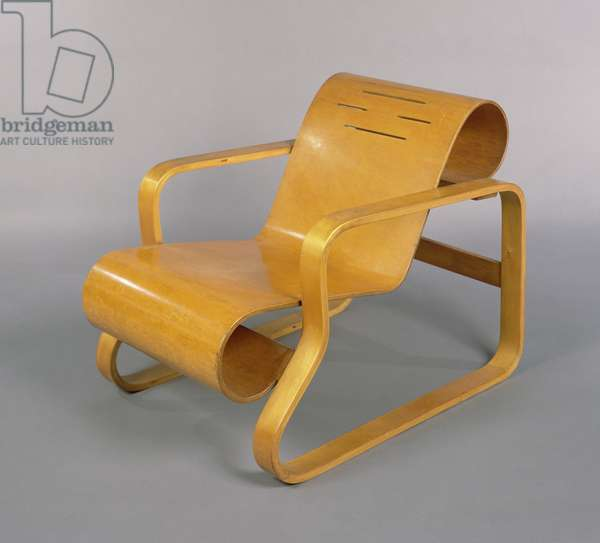 Armchair '41', 'Paimio', designed for Finmar by Alvar Aalto (1898-1976) 1931-32