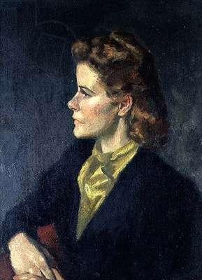 Half Length Portrait of Lady Warwick