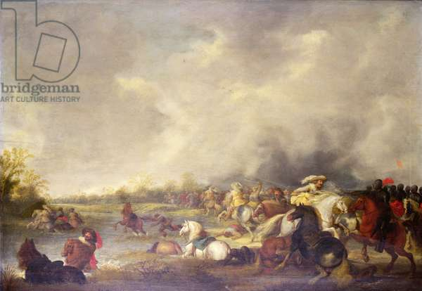 Battle of Lutzen (1632) (oil on panel)