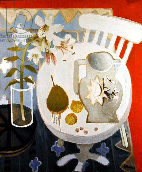 The White Chair, 1978 (oil on canvas)
