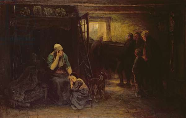 """Grief (""""Out of Darkness into Light""""), c.1871"""