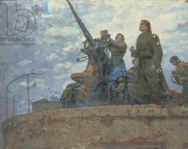 Female Anti-Aircraft Gunners