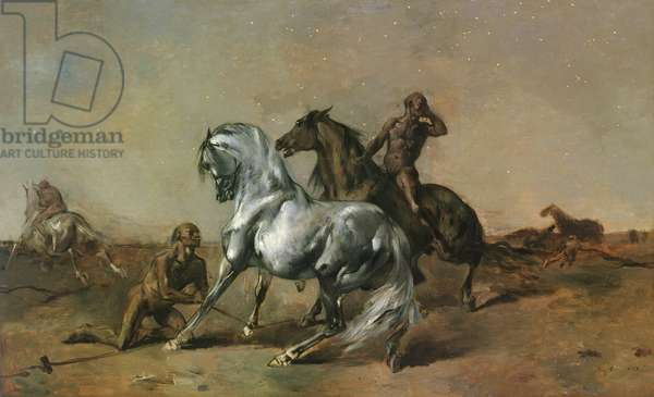 Night Robbers, 1868 (oil on canvas)