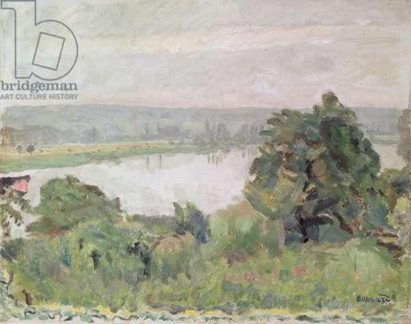 The Seine Near Vernon, 1911 (oil on canvas)