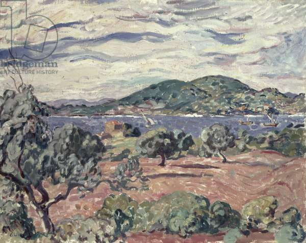 Bay of Antheor, c.1906-07 (oil on canvas)