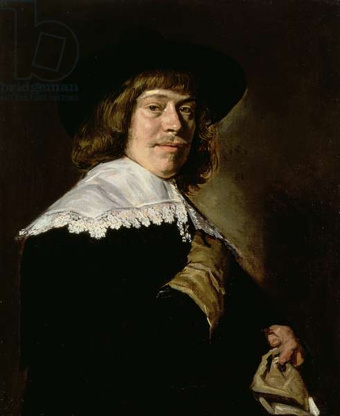 Portrait of a Young Man with a Glove, c.1640 (oil on canvas)