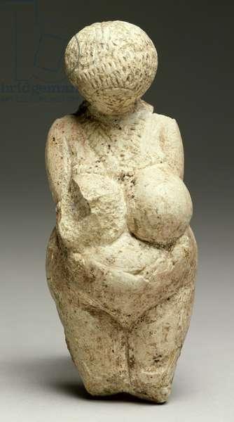 The Kostionki Venus, from Kostionki, Voronezh region, c.23,000 BC (stone)