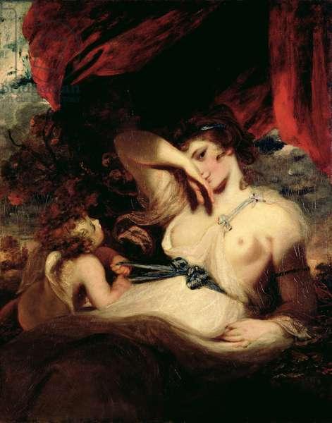Cupid Unfastening the Girdle of Venus, 1788 (oil on canvas)