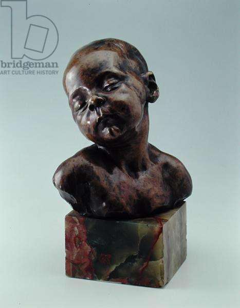 Sleeping Child, c.1879 (bronze)