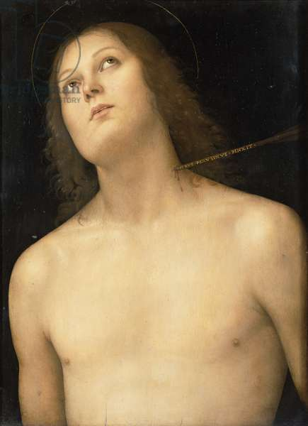 St. Sebastian, c.1495 (tempera and oil on panel)