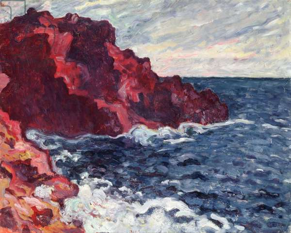 Violet Cliffs, 1900 (oil on canvas)