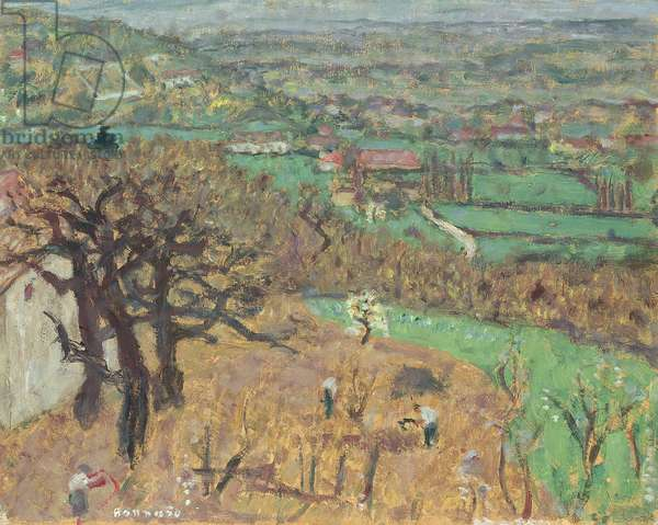 Landscape in Dauphine, c.1899 (oil on canvas)