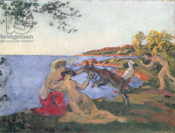 Mythological Scene, c.1903 (oil on cardboard)