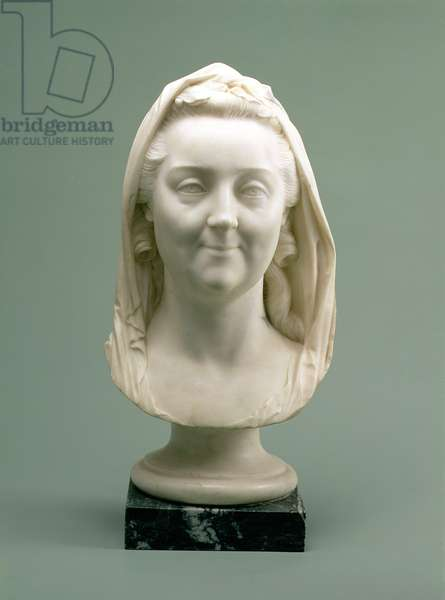 Portrait Bust of Catherine II (the Great) (1729-96), 1770s (marble)