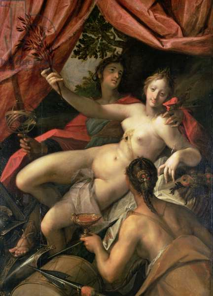 Allegory of Peace, Art and Abundance, 1602