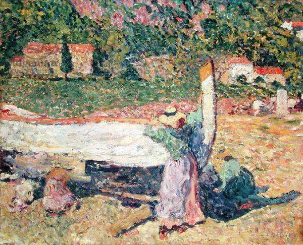 The Boat, 1899 (oil on canvas)