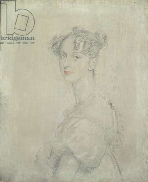 Portrait of Princess Darya Lieven (1785-1857), 1820-23 (pencil, red and white chalk)