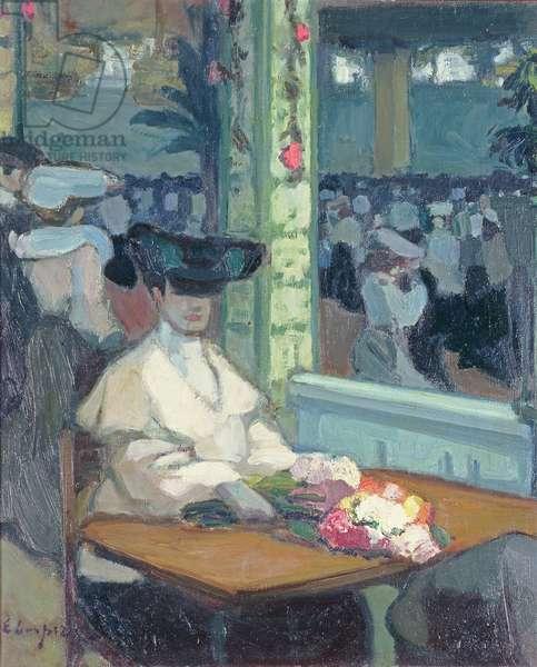 Waiting (Moulin de la Galette), 1905 (oil on canvas)