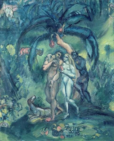 The Temptation, c.1910 (oil on canvas)