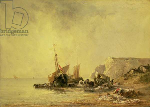 Boats by the Normandy Shore, c.1823
