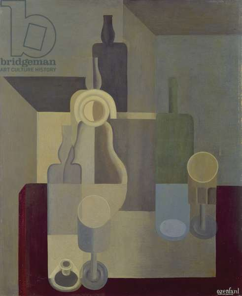 Still Life with Dishes, 1920 (oil on canvas)