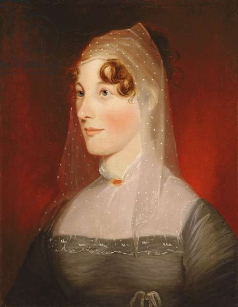 Portrait of Rebecca Feltham, 1811 (oil on canvas)